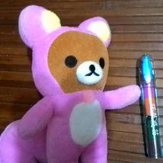娃娃 偽裝成松鼠的拉拉熊