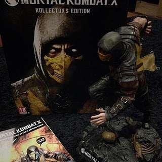 Mortal Kombat X Kollektor's Edition With Scorpion Diorama (plus MK X Comic)