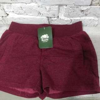 💯加拿大ROOTS 棉短褲