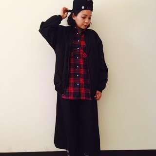 MA1風衣外套(黑)