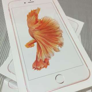 Apple IPhone 6s Plus 64G 玫瑰金 現貨