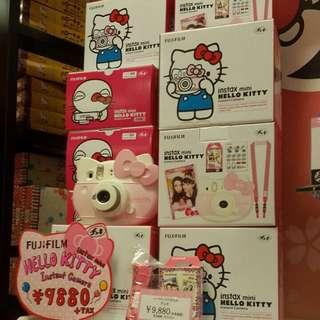 恆昶公司貨~全新Hello Kitty 40周年紀念版拍立得