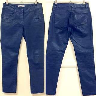 KOOKAI 黑灰色小直筒牛仔褲