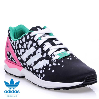 Originals Women's Adidas ZX Flux Shoes Core Black M19455