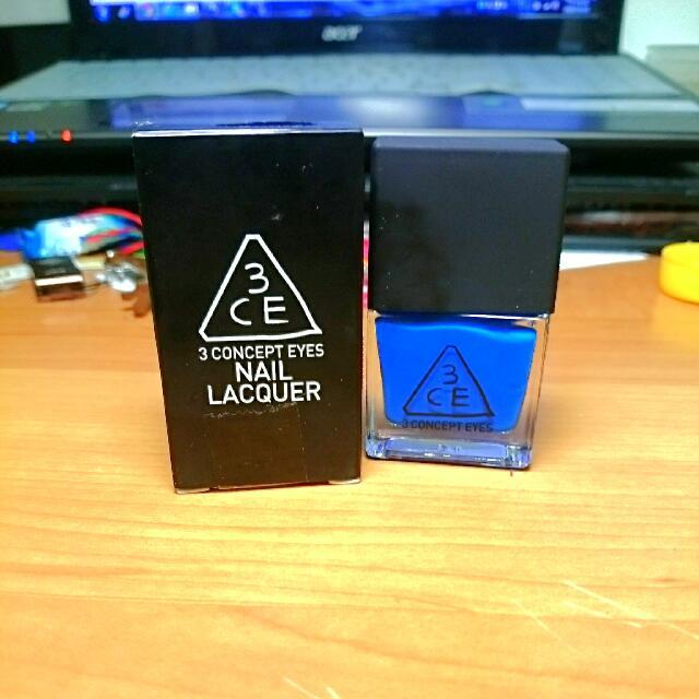 韓國3CE指甲油 Nail Lacquer 10ml #BL02