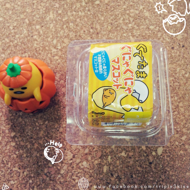 蛋黃哥捏捏樂─蛋白款