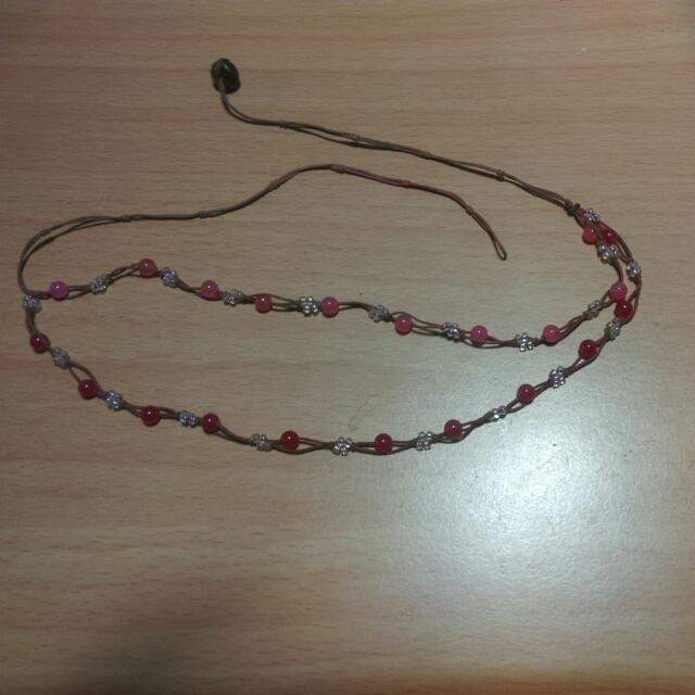 珠珠脖圍項鍊