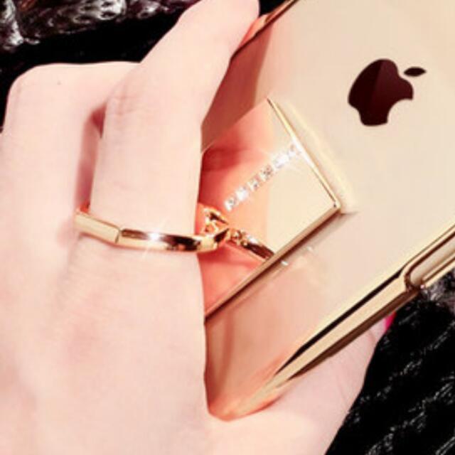 手機💎防摔戒指環