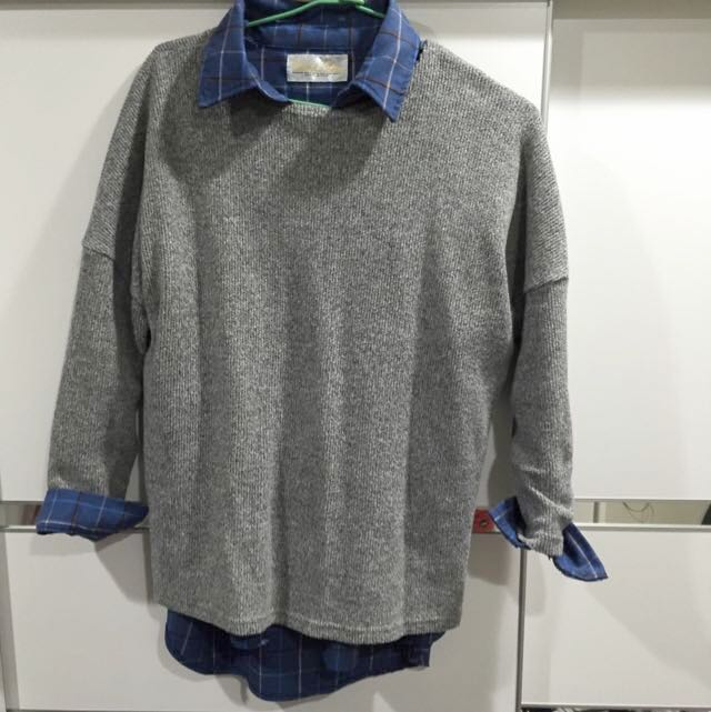 襯衫毛衣(分開的)