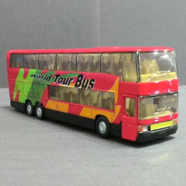 雙層巴士 合金 回力車