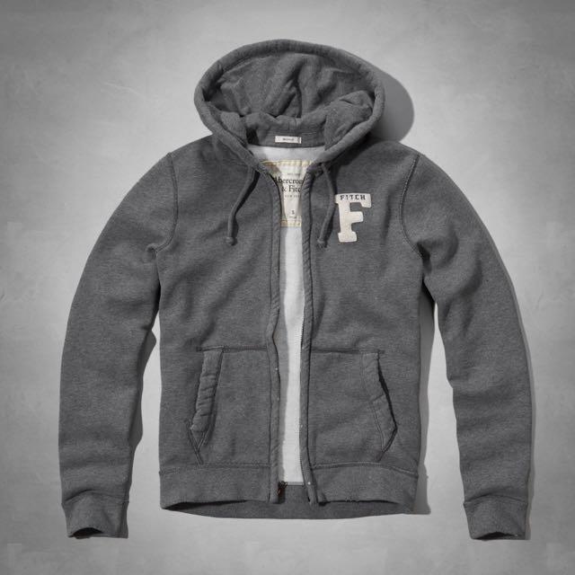早秋現貨款 Abercrombie&Fitch 棉質鋪棉外套 M號