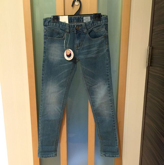 全新刷色牛仔褲 S號
