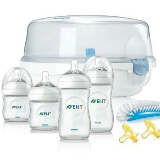 Avent Starter Kit With Microaveable Sterilizer
