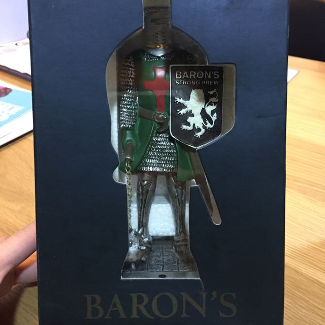 Baron S Strong Brew Statue Vintage Collectibles On Carousell