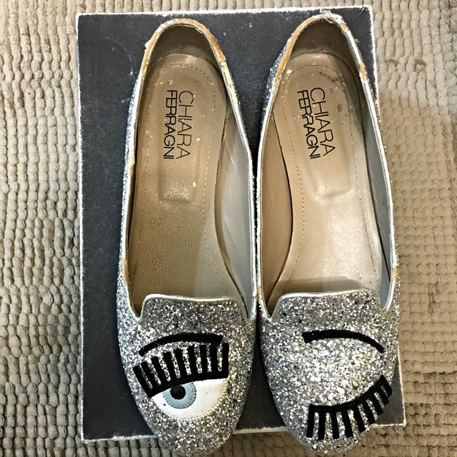 Chiara Ferragni Flirting Glitter Shoes