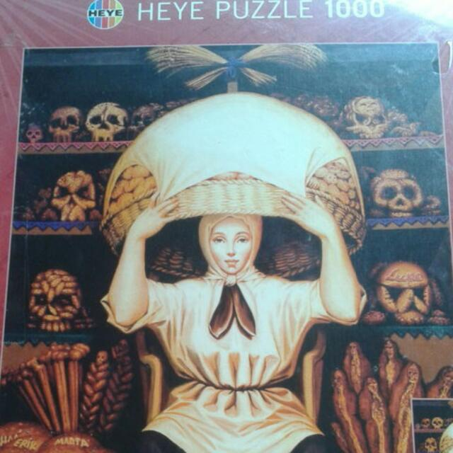 Heye puzzle double vision 拼圖