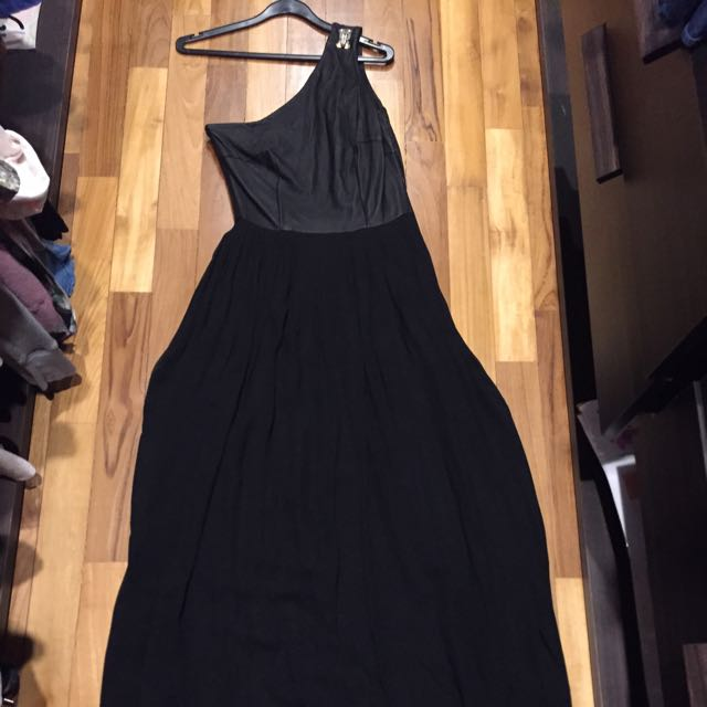 High End Gowns Clearance! Raoul Leather Top Toga Dress / Gown, Like ...