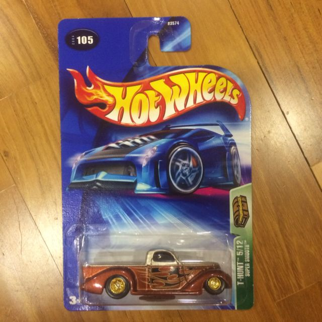 Treasure Hunt  5//12-2004 Super Smooth Hot Wheels