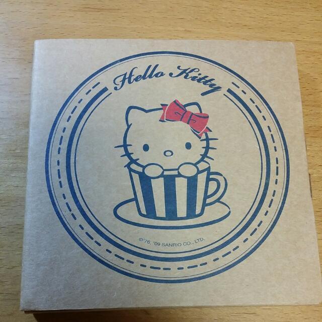 Kitty陶瓷吸水杯墊