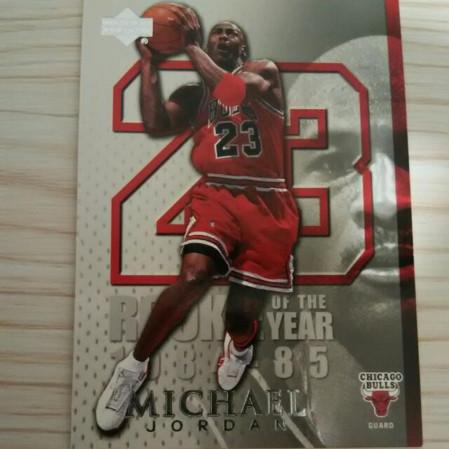 Mj41 Rookie Of The Year Upper Deck 2005 Collectors Card Michael
