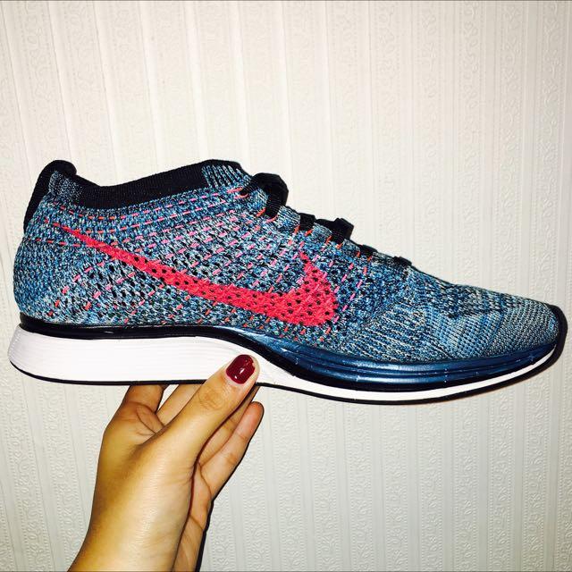 Nike Flyknit Racer 藍寶石 土耳其藍