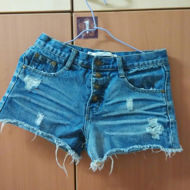 (含運)Queen Shop牛仔短褲