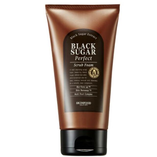 [Skin Food] 完美黑糖去角質洗面乳