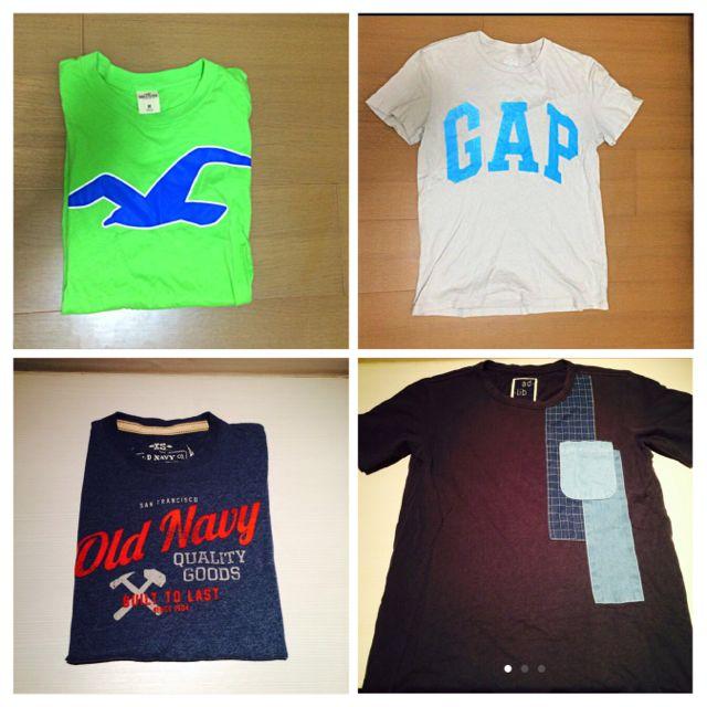 二手Tshirt出清 A&F Hollister Gap Old Navy