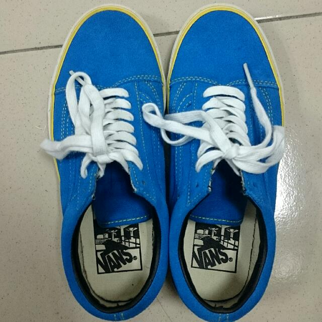 (保留)Vans Oldskool 藍黃配色