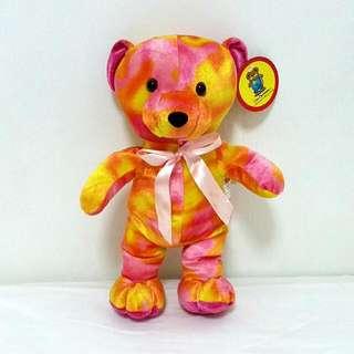 Multi-coloured Teddy Bear (with tag)