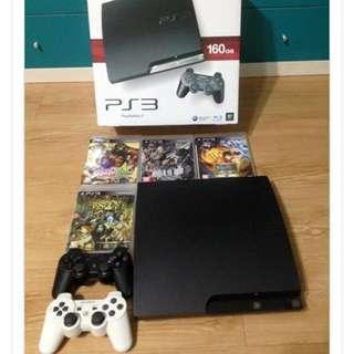 PS3 160gb 黑色