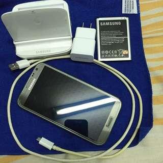 Samsung Note2 6成新 很順好用 鏡面無刮痕 價格小議