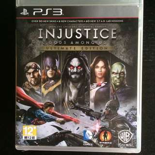 PS3 Injustice