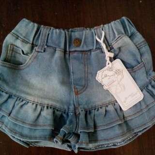🎉現貨🎉女童牛仔褲裙