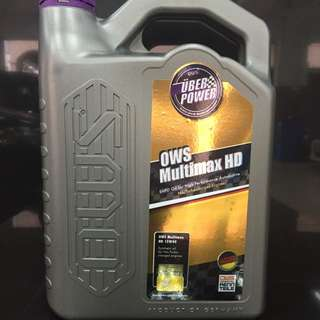 OWS Germany Multimax HD 15w40 Synthetic Engine Oil