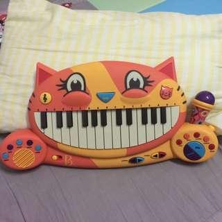 B-toy大嘴貓鋼琴