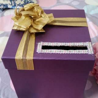 Beautiful Gift Box And Ring Pillow