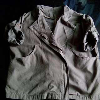 二手寬鬆外套(有小瑕疵)