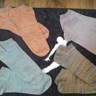 無印良品 特色長襪 男版 四色