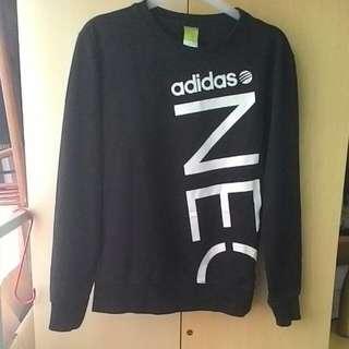 Adidas 三爪logo 長袖 大學T