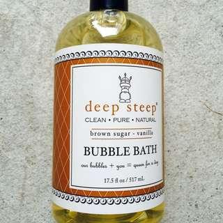 Deep Steep Bubble Bath Brown Sugar Brand New