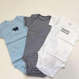 Carter's官網正品[小象]短袖全新男生包屁衣五件組