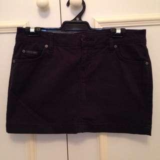 Calvin Klein Short Black Skirt Size Small