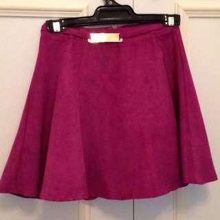 Purple Skater Skirt Size Small