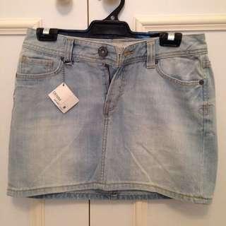 Denim Skirt Small