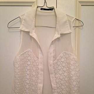 Dotti Mesh Shirt Size 8