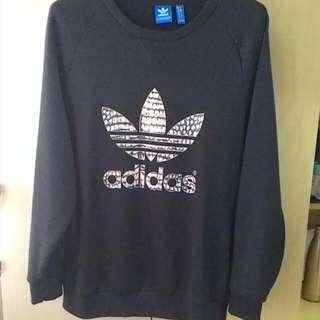 Adidas 長袖 大學T