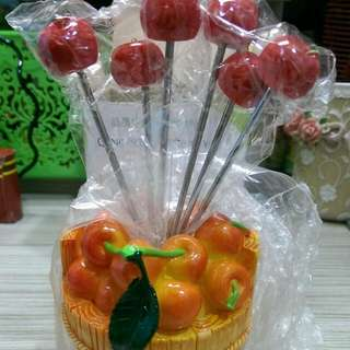 造型水果叉-櫻桃