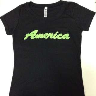全新)黑色短袖T恤