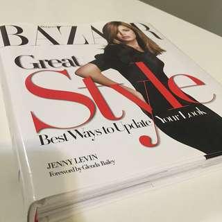 HARPER's BAZAAR great Style Book Fashion Bible